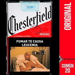 Chesterfield Cigarrillos Original Comun 20U