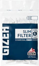 Filtros Gizeh Carbon Slim Azul
