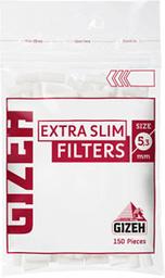 Filtros Gizeh Para Cigarro Extra Slim 150 U