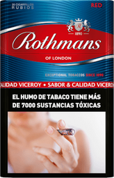 Cigarrillos Rothmans Red Comun