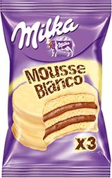 Alfajor Milka Triple Mousse Blanco 55Grs