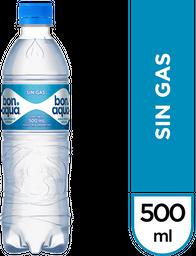Agua  Bonaqua Sin Gas x 500 mL