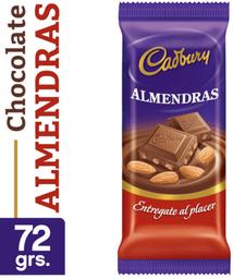 Chocolate Cadbury Almendras 72Grs