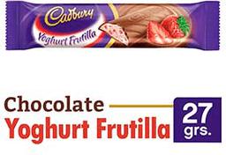 Chocolate Cadbury Yoghurt Frutilla 27Grs