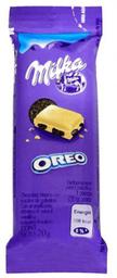 Chocolate Milka Oreo Blanco Con Trozos de Galleta 20 g