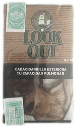Cigarrillos Lookout Natural 40 g