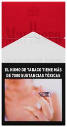 Caja de cigarrillos Marlboro Red Box 10