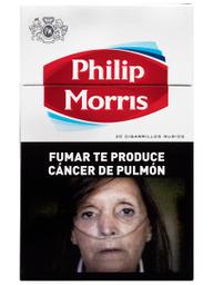 Caja De Cigarrillos Philip Morris Común 20
