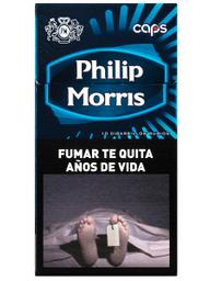 Caja De Cigarrillos Philip Morris Caps Box 10