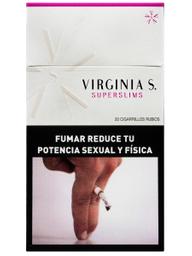 Caja De Cigarrillos Virginia Slims Box 20