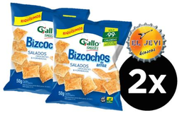 Combo Bizcocho Gallo Salado