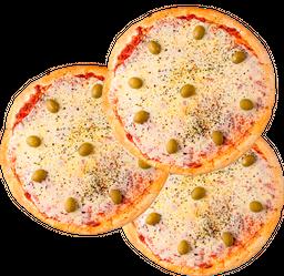 Pizzas Muzzarella