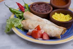 Burritos Mixto con Pollo y Carne