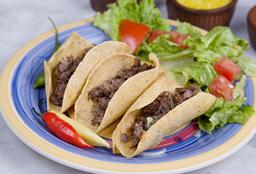 Tacos de Carne X 3