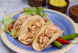Tacos de Pollo X 3