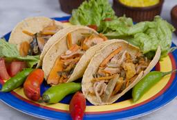 Tacos de Verduras X 3
