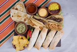 4 Burritos & 4 Tacos
