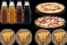 Promo Birra + 2 Pizzas + Fainá