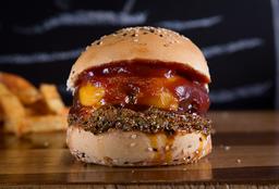 Cheesie Pinkman Burger
