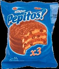 Alfajor Pepitos Pepitos 57Grs