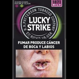 Cigarrillos Lucky Strike Double Capsule Wild Box 20