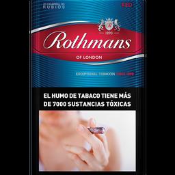 Cigarrillos Rothmans Red Box 20