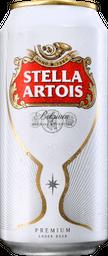 Stella Artois lata