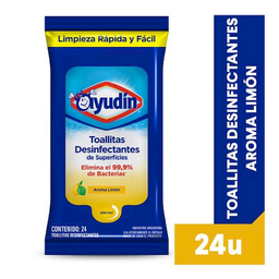 Ayudín Toallitas Desinfectantes Aroma a LimónClorox