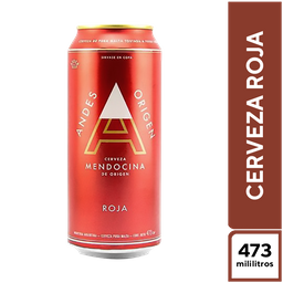 Andes Roja 473 ml X 6