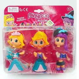 PIN&PON 2 FIGURAS BRUJA Y PRINCESA C/ACC.