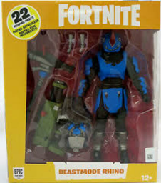 FORTNITE FIG. DELUXE COLECCION C/ACC BEASTMODE RHINO