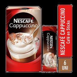 Nescafé Cafe Cappuccino 6 Sobres