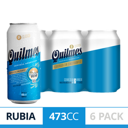 Cerveza Quilmes Clásica 473Ml X 6