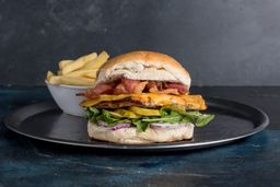 Sándwich de Pollo Verde