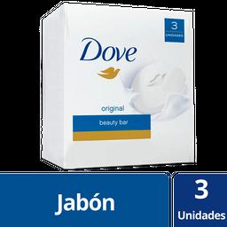 Dove Jabón En Barra Original 3 X