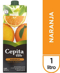 Jugo Cepita Del Valle Sabor Naranja 1 L