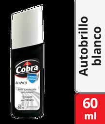 Cobra Limpiador Para Calzado Blanco