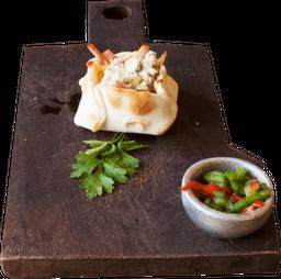 Empanada de Jamón y Provolone