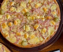 Pizza de Jamón y Ananá