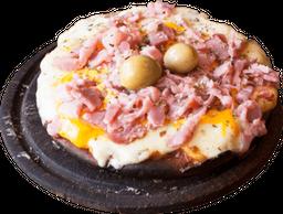 Pizza Cheddar y Panceta