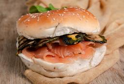 Sándwich Gourmet Salmón Ahumado