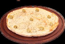 Pizza grande de mozzarella