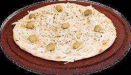 Pizza de fugazzeta & jamón grande