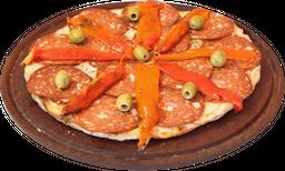 Pizza española grande