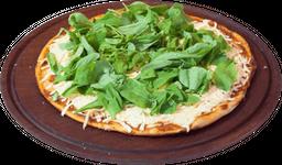 Pizza de rúcula grande