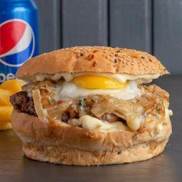 2 Burger la Francesa + Papas