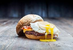 Eggsplotion Burger