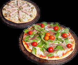 2 Pizzas Individuales a Elección