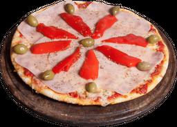Pizza de Jamón & Morrones