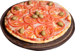 Pizza de Jamón & Tomates
